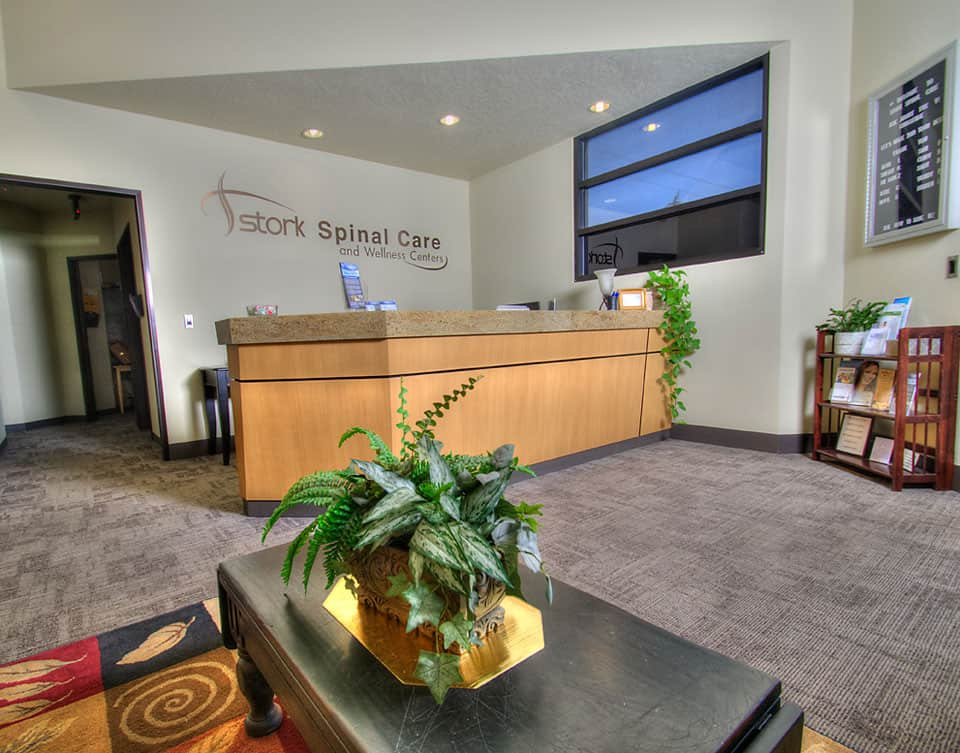 Stork Spinal Care reception area
